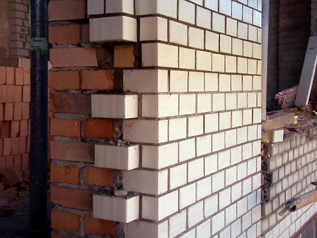 Sanierung Erneuerung Eines Mauerwerkspfeilers Mit