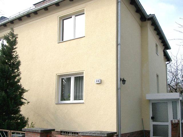 Fassadenputz An Einem Wohnhaus Erneuern Bauunternehmen