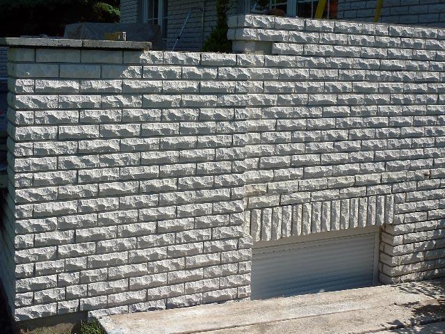 terrassensanierung verblendarbeiten mit kalksandstein riemchen bauunternehmen ralf diewell. Black Bedroom Furniture Sets. Home Design Ideas