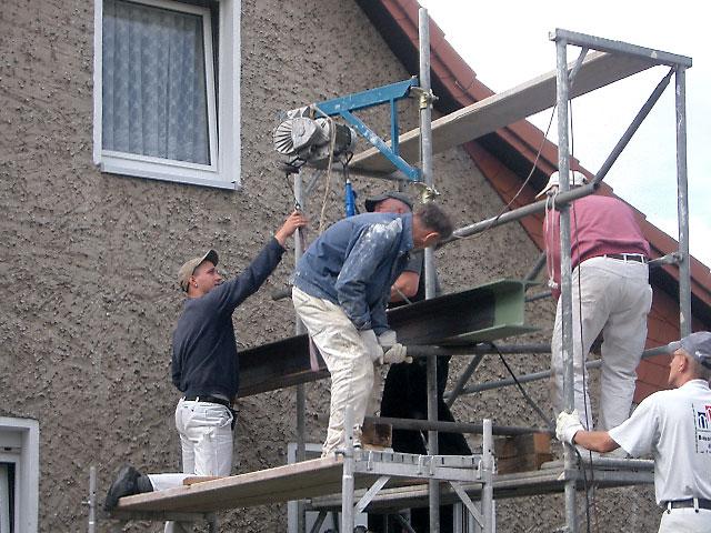 unterzug wohnzimmer: Unterzug nach Wandabriss – Bauunternehmen Ralf Diewell – Berlin